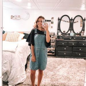 Vintage Overall Dress!!